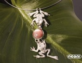 Pendente argento con corniola | Negri Gioielli Roma 100% Artigianali | handmade jewellery