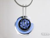 Girocollo argento e titanio con vetro dicroico | Negri Gioielli Roma 100% Artigianali | handmade jewellery