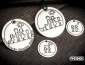 Girocollo personalizzabile | Negri Gioielli Roma 100% Artigianali | handmade jewellery