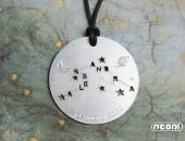 Girocollo con pendente in argento | Negri Gioielli Roma 100% Artigianali | handmade jewellery