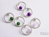 Orecchini argento con agete | Negri Gioielli Roma 100% Artigianali | handmade jewellery