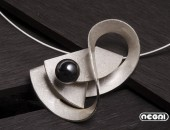 Pendente argento con onice | Negri Gioielli Roma 100% Artigianali | handmade jewellery