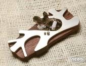 Pendente argento e abano viola con quarzo | Negri Gioielli Roma 100% Artigianali | handmade jewellery