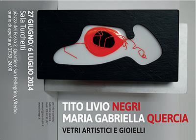 Mostra Vetri Artistici e Gioielli | Negri Gioielli Roma 100% Artigianali | handmade jewellery