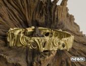 Bracciale in oro giallo | Negri Gioielli Roma 100% Artigianali | handmade jewellery