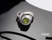 Anello oro bianco con Peridoto | Negri Gioielli Roma 100% Artigianali | handmade jewellery
